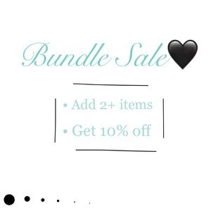 Bundle Sale!